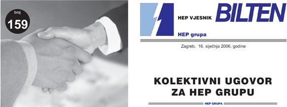 Kolektivni ugovor za HEP Grupu - PDF